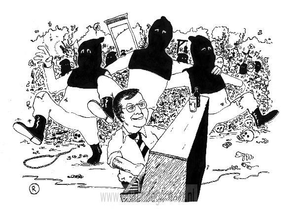 De Doodstraf Criminaliteit Dood Illustraties Werk in Opdracht