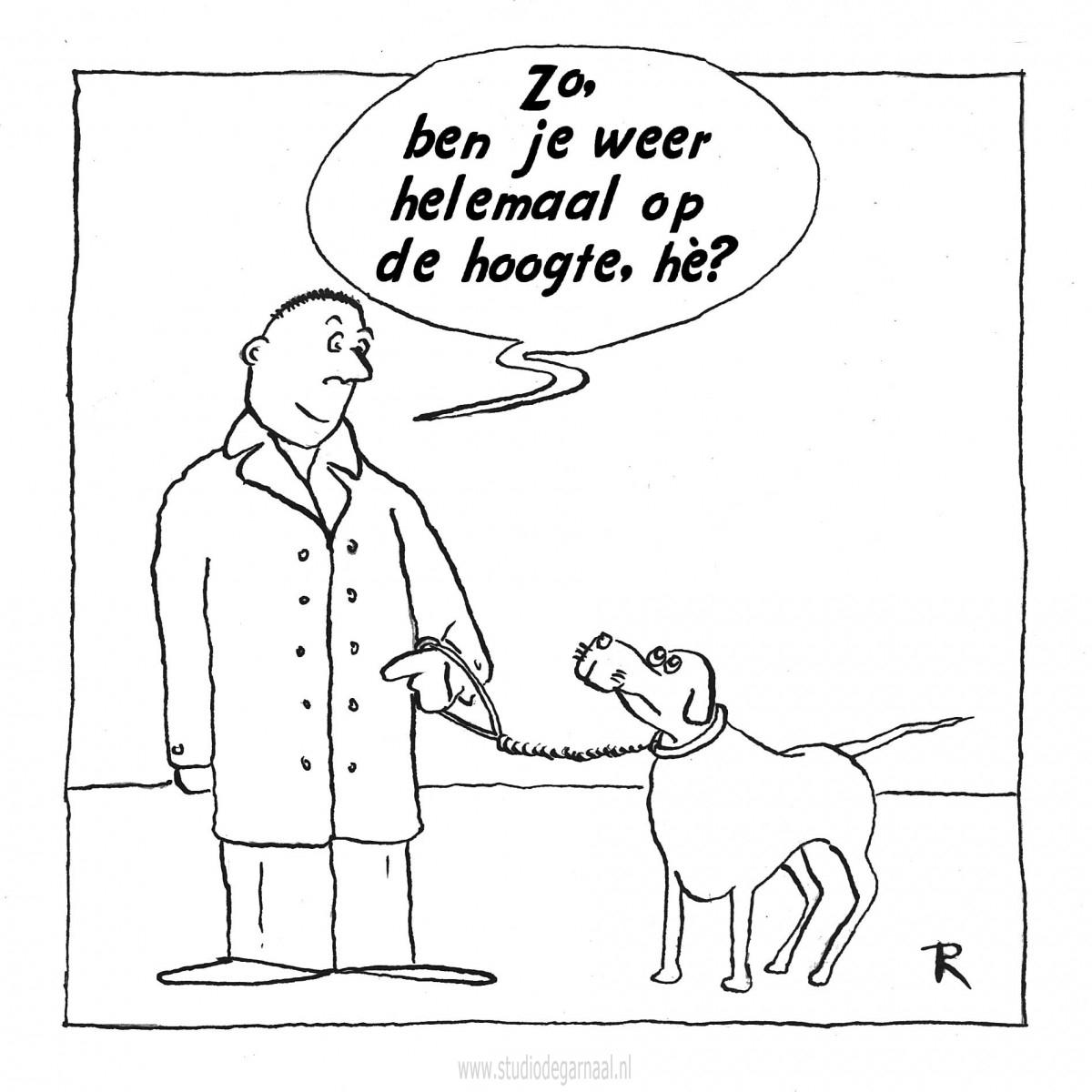 Feedback  - Cartoons door cartoonist & illustrator Ronald Oudman