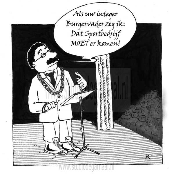 Integriteit  - Cartoons door cartoonist & illustrator Ronald Oudman