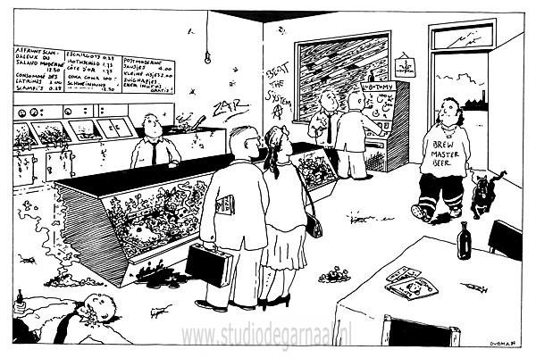 Vreemd Milieu  - Cartoons door cartoonist & illustrator Ronald Oudman