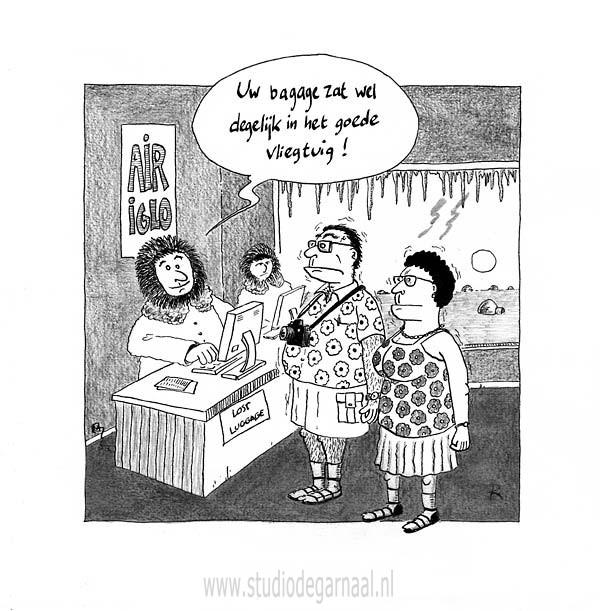Lost Luggage  - Cartoons door cartoonist & illustrator Ronald Oudman