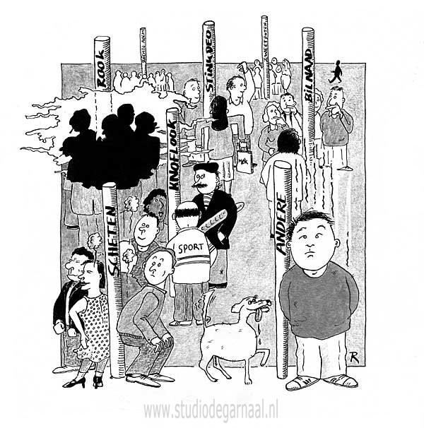 Stinkstokken Cartoon