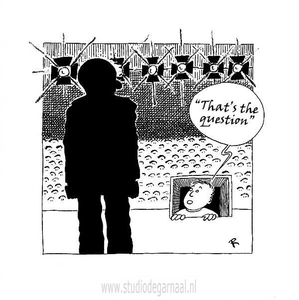 Souffleur (2)  - Cartoons door cartoonist & illustrator Ronald Oudman