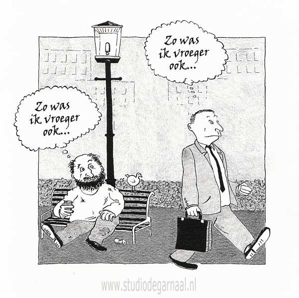 Carrièremogelijkheden Cartoon Werk