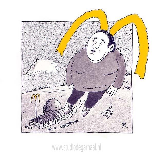 Mac Death Cartoon Dood Horeca