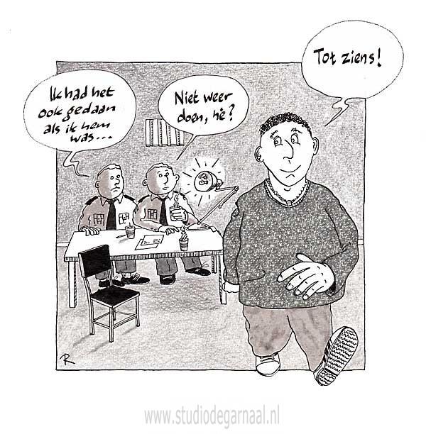 Good Cop / Good Cop  - Cartoons door cartoonist & illustrator Ronald Oudman