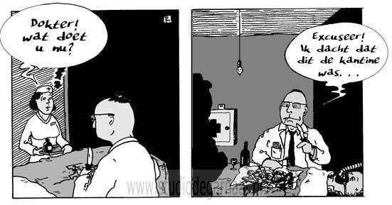 Dokter! Wat doet u nu?  - Cartoons door cartoonist & illustrator Ronald Oudman