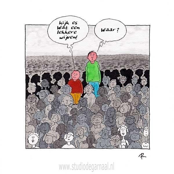 Lekkere Wijven  - Cartoons door cartoonist & illustrator Ronald Oudman