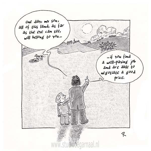 As Far as the Eye can See... Cartoon Kinderen