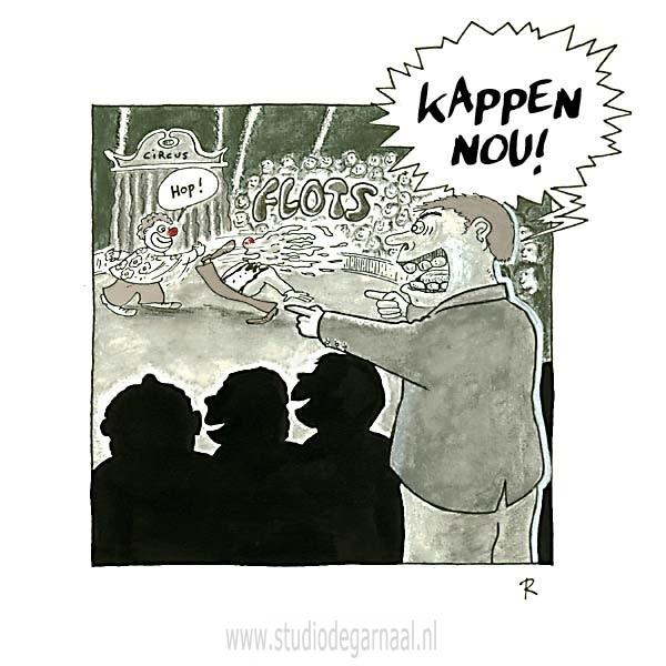 Zinloos Geweld  - Cartoons door cartoonist & illustrator Ronald Oudman