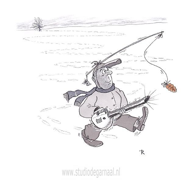 Autumn Leaves  - Cartoons door cartoonist & illustrator Ronald Oudman