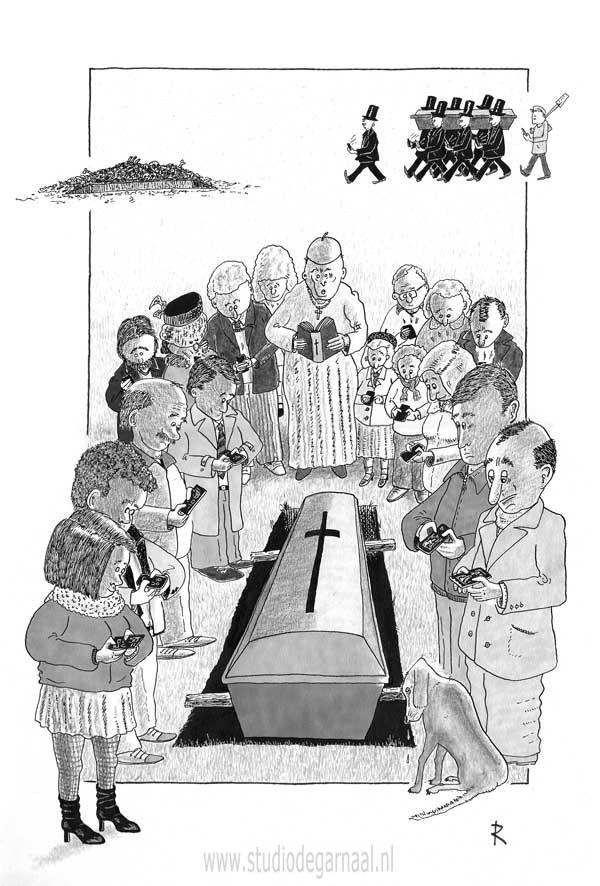 Respect Cartoon Dood Electronica