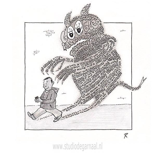 Feind Hört Mit!  - Cartoons door cartoonist & illustrator Ronald Oudman