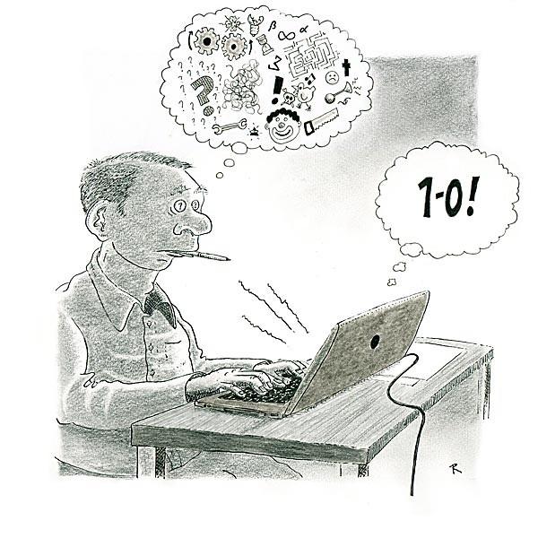 1-0 Cartoon Electronica