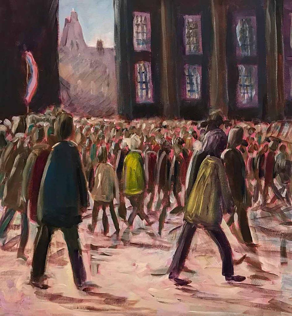 Grote Markt Schilderij