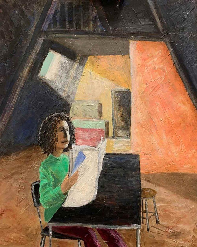 La Métisse Schilderij