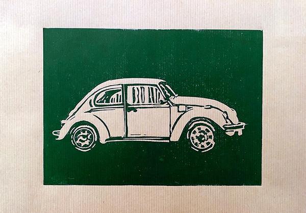 Kever Linoprint