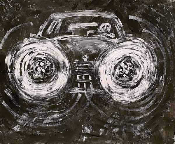 Last Drive Schilderij