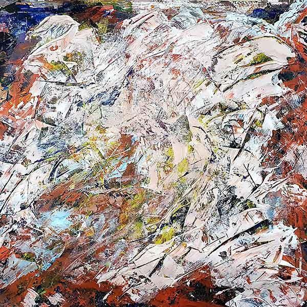 Abstract 2 Schilderij