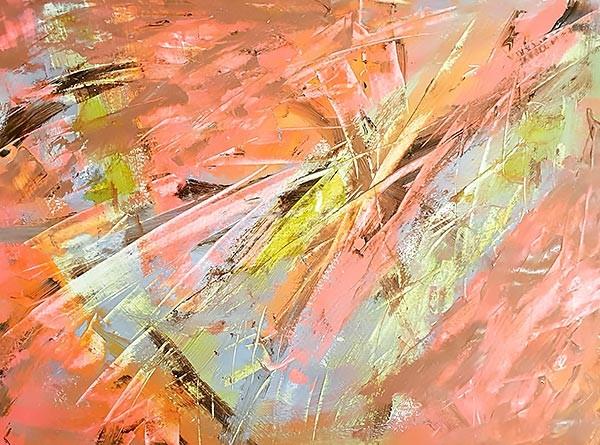 Abstract 3 Schilderij