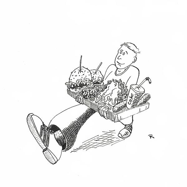 Keep on Snackin' Illustraties