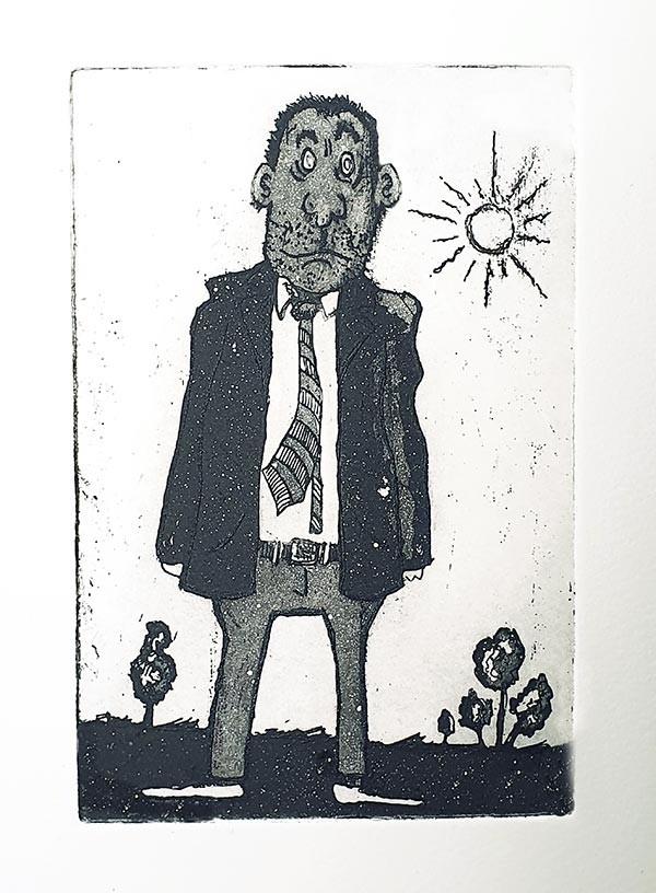 Een Mannetje onder de Zon Grafiek